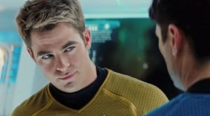 Star Trek Into Darkness Chris Pine Chris Isaak face